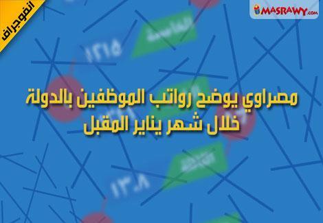 مصراوى تنشر رواتب العاملين فى الدولة من اول شهر يناير 2013