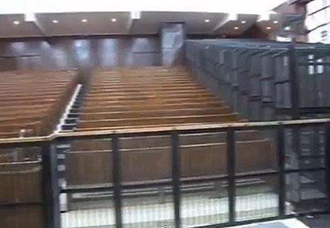 فيديو لمكان محاكمة الرئيس المصري محمد مرسي