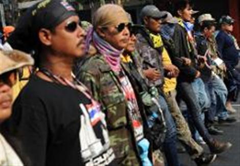 مقتل احد قادة التظاهرات في بانكوك