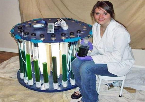 من أجل 100 ألف دولار.. طالبة تبني معملا في غرفتها لإنتاج الوقود الحيوي