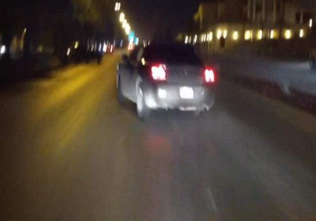 سائق سعودي يثير الذعر في الغرب