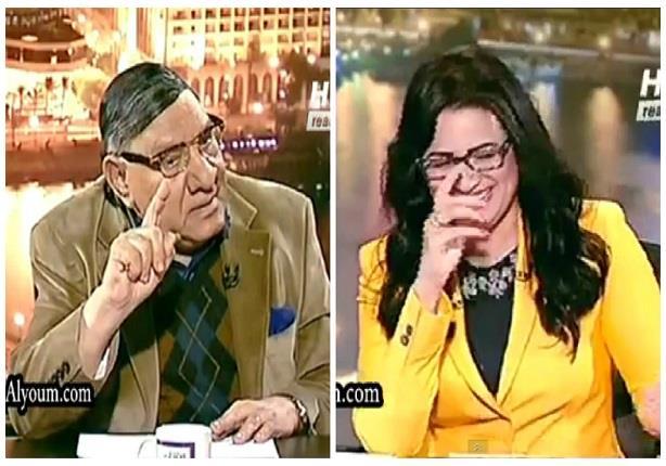 مفيد فوزي يغازل رانيا بدوي: سنانك حلوة ونظارتك جميلة