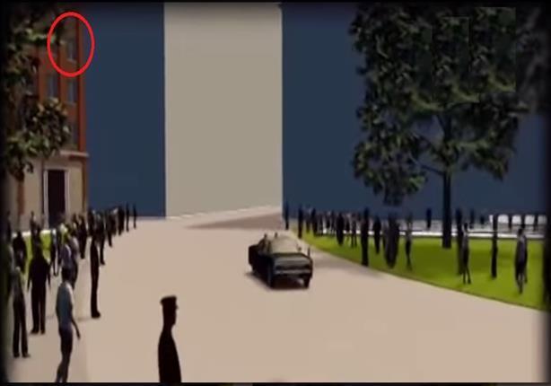 """وكالة الأنباء الفرنسية تنشر فيديو تخيلي لإغتيال """"كيندي"""" وأول صورة لقاتله"""