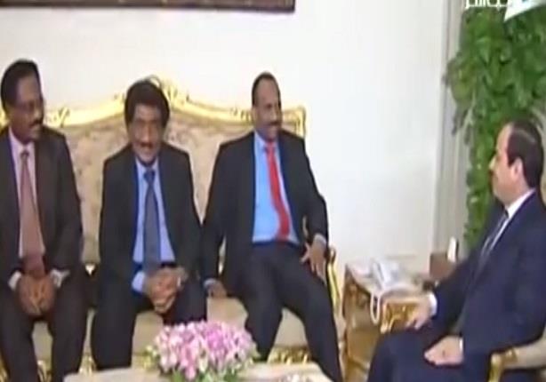 السيسي يلتقي رئيس جنوب السودان لبحث العلاقات الثنائية بين البلدين