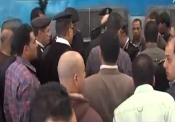 لحظة انفجار قنبلة فى محطة مصر