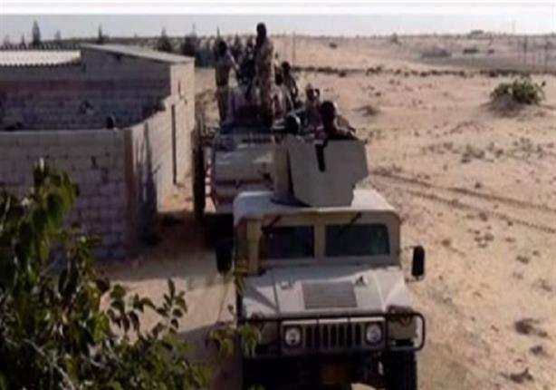 """الجيش: ضبط كميات كبيرة من الإمداد الغذائي لـ """"العناصر التكفيرية"""" بوسط سيناء"""