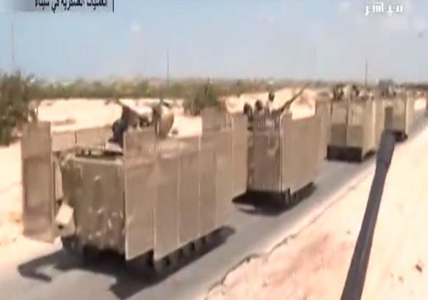 سيناء : قوات الأمن تتمكن من إطلاق سراح شرطي اختطف على يد مسجل خطر