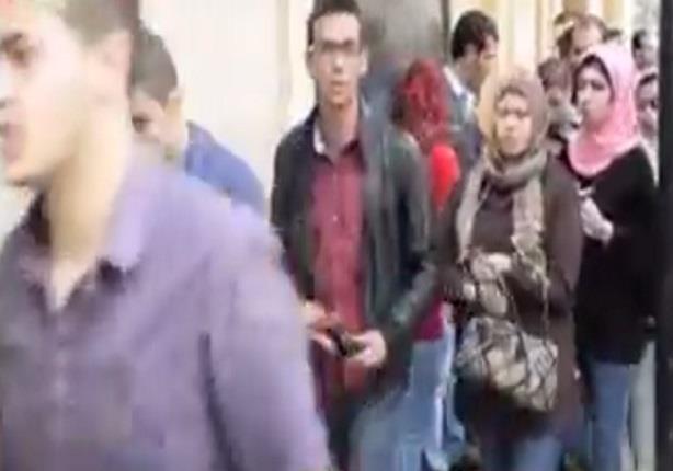 """غياب التظاهرات بجامعة عين شمس و""""فالكون"""" تشدد إجراءاتها"""