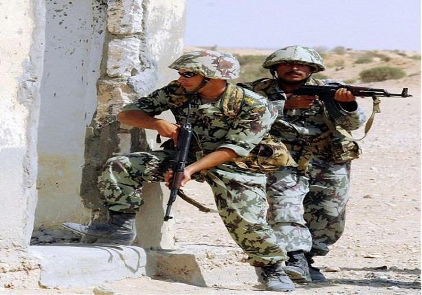 الجيش يضبط مخزنًا