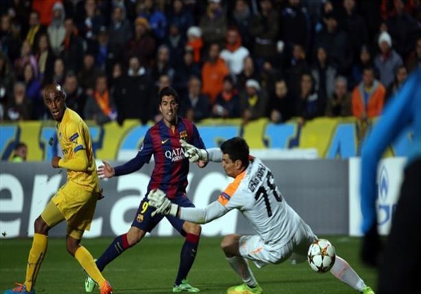 بالفيديو-  سواريز يسجل أول أهدافه بقميص برشلونة