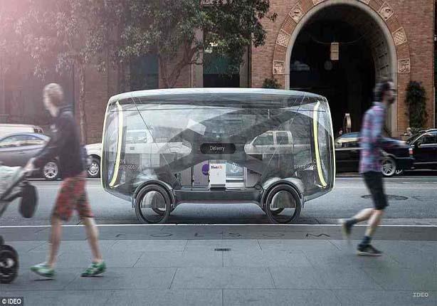 بالصور - سيارات تتحول إلى مكاتب وغرف معيشة