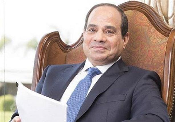 السيسي يبحث مع رئيس مجلس الشيوخ الفرنسي جهود تحقيق الاستقرار فى المنطقة