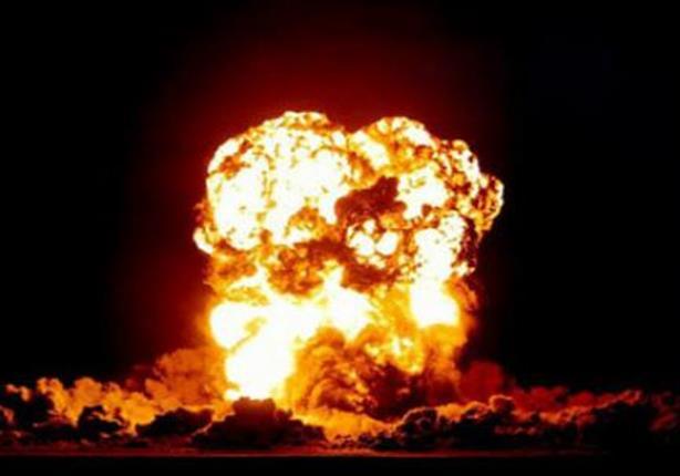 انفجار مدوي يستهدف رتلا عسكريا جنوب الشيخ زويد