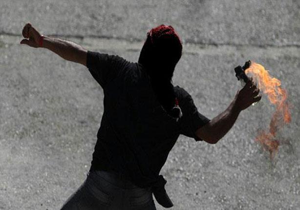 مجهولون يشعلون النيران بسنافورات السكة الحديد في بني سويف