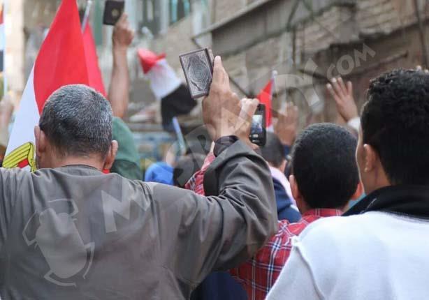 عدسة مصراوي ترصد أول صور لرفع المصاحف في تظاهرات 28 نوفمبر