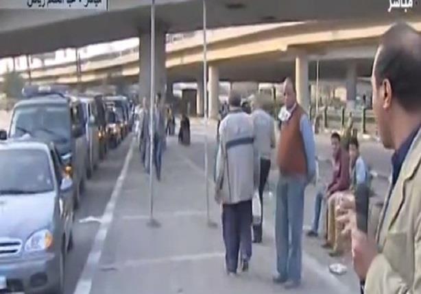 عبد المنعم رياض :الأهالي ألقو القبض على المتهم بالقاء قنبلة صوت