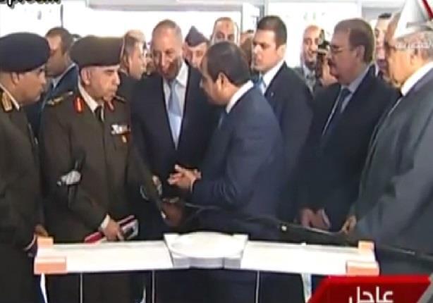 الحوار الذى دار بين الرئيس السيسى وأحد قيادات القوات المسلحة ومحافظ الغردقة حول تكاليف ميناء الغردقة