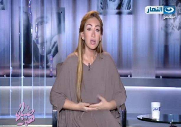 ريهام سعيد تسب إعلاميا على الهواء
