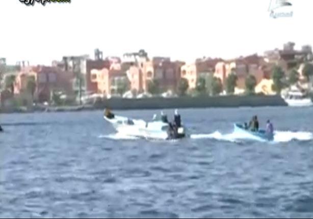 الشئون المعنوية تعرض فيديو لجهود القوات المسلحة فى بناء ميناء الغردقة البحرى أثناء حضور السيسى