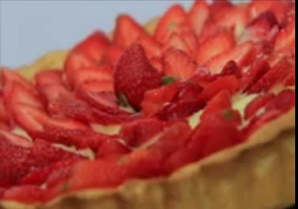 تارت فراولة - موس الفراولة بالمارشميلو - سابلية الفراولة  مع ماجى حبيب