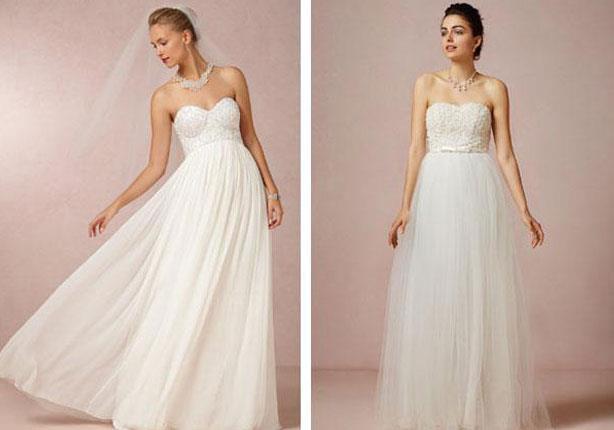 بالصور: تشكيلة من فساتين زفاف بقصة البالرينا