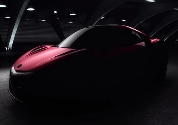 """إعلان تشويقي لـ""""هوندا NSX """"2015 الرياضية"""