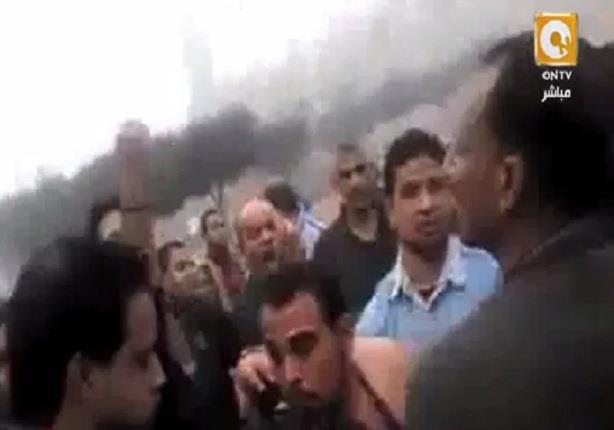 مواطنيين يسحلون بمتحرش فى منطقة العاشر من رمضان تحرش بفتاه
