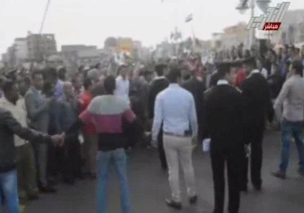 الغيطى :استقبال حاشد للرئيس السيسى بالغردقة