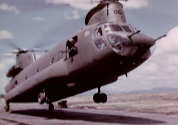 كيف تهبط الطائرة سي إتش ـ 47 على سطح الماء