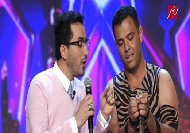 أخطر موهبه فى Arabs Got Talent وأحمد حلمى يشارك فيها