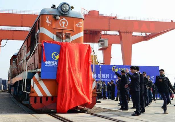 بالصور - أطول خط سكة حديد في العالم.. قطار يصل من الصين الى مدريد