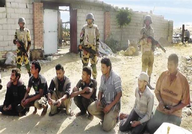 المتحدث العسكري: مقتل 14 إرهابياً وضبط 45 أخرين في شمال سيناء