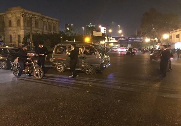 بالصور.. مدير أمن القاهرة يقود حملة مكبرة في شارع 26 يوليو