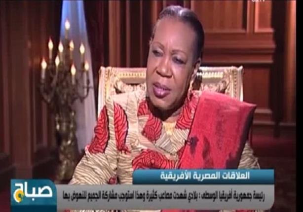 رئيس جمهورية أفريقيا الوسطى: جئت لمصر للاستفادة من خبرة السيسي