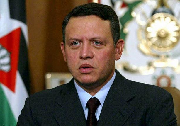 ملك الأردن يؤكد مركزية القضية الفلسطينية