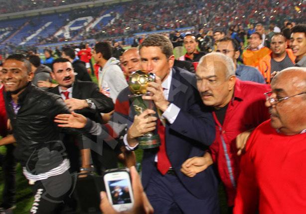الأهلي يفوز بالكونفدرالية بهدف عماد متعب أمام سيوي سبورت