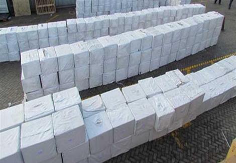 بالبرهان| أحضار 25 مليونا و170 ألف قرص مخدر بميناء غرب بورسعيد