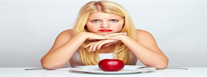 تحرمين نفسك من الطعام و مع ذلك لاتخسرين أى وزن!!