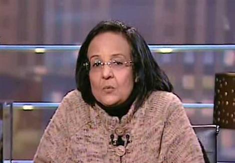 لميس جابر: أطالب بطرد الفلسطينيين من مصر