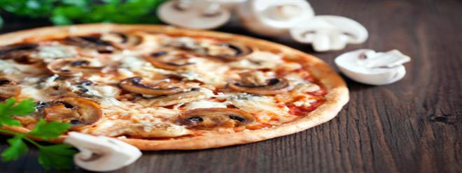 عشاء سهل و سريع |بيتزا المشروم