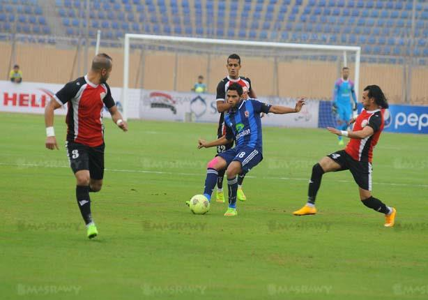 أهداف مباراة (الجيش 1 - الأهلي 3 ) بالدوري