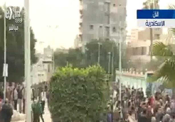 شاهد تشييع جنازة شيماء الصباغ بالاسكندرية