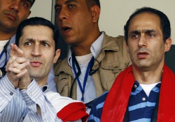 مصلحة السجون تُعلن جمال وعلاء مبارك