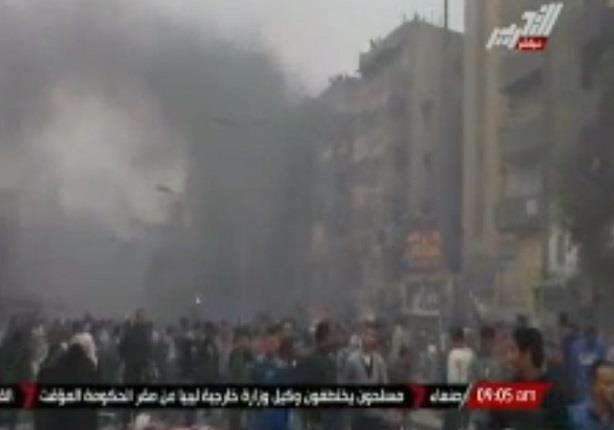 """الداخلية: وفاة مجند واصابة 3 ضباط بـ """"طلقات نارية"""" في تظاهرات المطرية"""