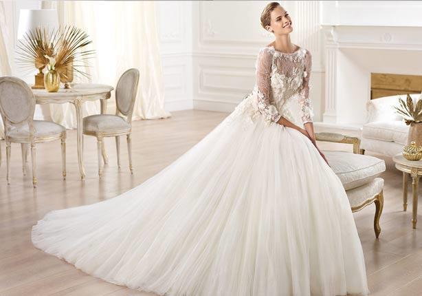 بالصور- فستان زفافك من مصمم الأزياء اللبناني العالمي إيلي صعب