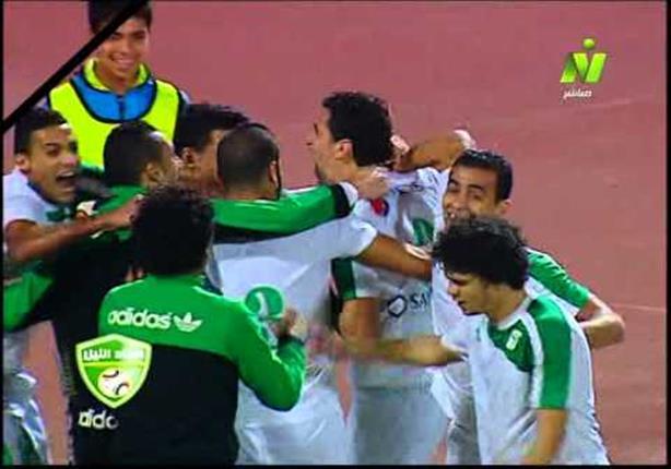 هدف المصري ضد الاتحاد السكندري