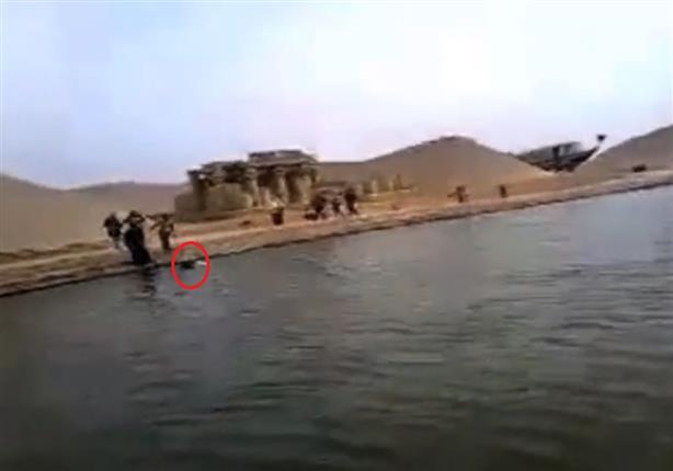 لحظة غرق المهندس محمد إدريس في القرية الكونية