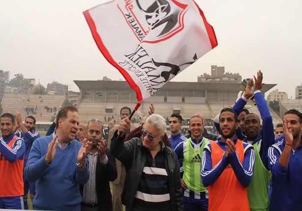 قبل مباراة القمة .. مرتضى منصور يغني مع الوايت نايتس