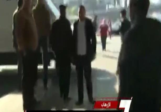 خبراء المفرقعات ينجحون فى ابطال مفعول قنبلة بموقف عبد المنعم رياض
