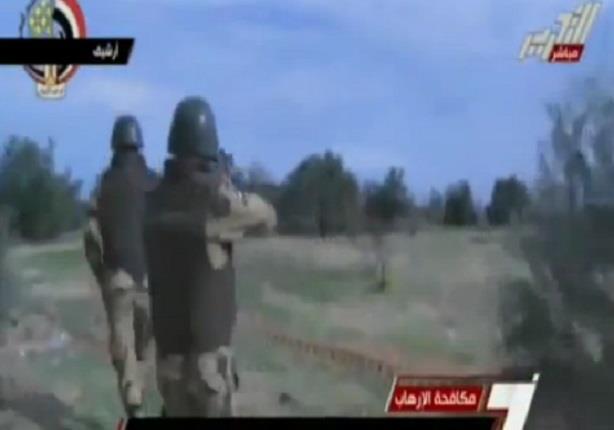 القبض على 3 إرهابيين وضبط 120 قذيفة هاون فى سيناء